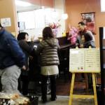 まどか村オープン初日喫茶店